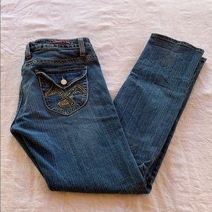 Vigoss Slim Straight Sequin Detail Jeans 11 / 12